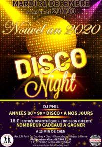 SOIREE Nouvel an 2020